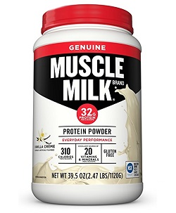 cytosport muscle milk vanilla review