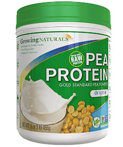 growing natural pea protein