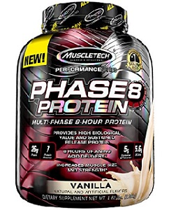 muscletech phase 8 vanilla protein review