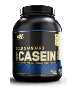 optimum nutrition gold standard casein recommended