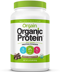 orgain protein powder chocolate