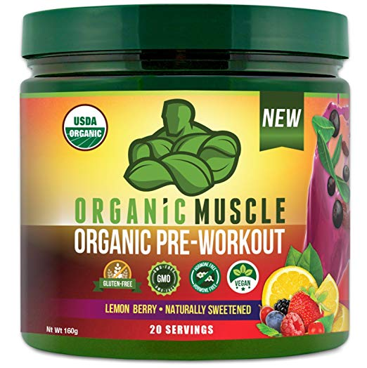 organic muscle pre workout
